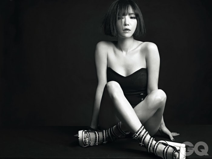 Ga In Brown Eyed Girls - GQ Magazine February Issue 2014