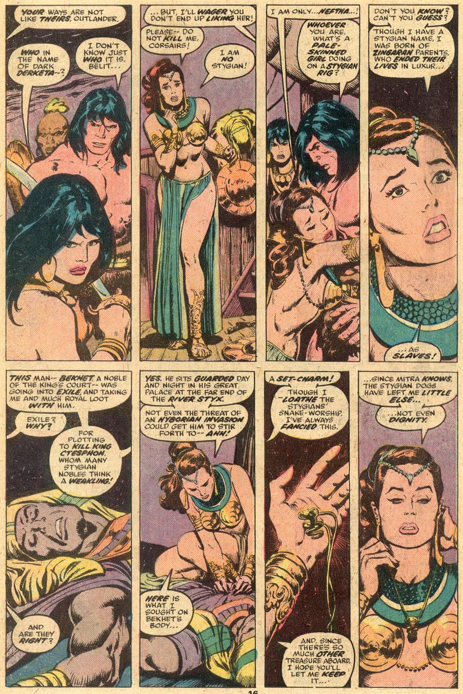 Conan the Barbarian (1970) Issue #74 #86 - English 10