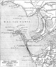 carta náutica de la bahía