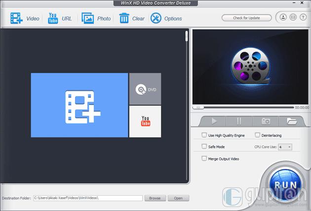 WinX HD Video Converter Deluxe Full Legal License Code