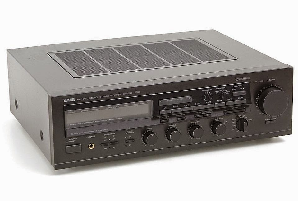 Yamaha rx 930 stereo receiver audiobaza for Yamaha stereo reciever