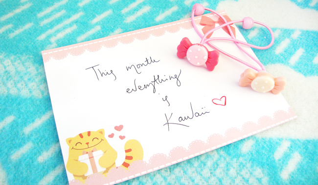 kawaii box, review, october 2014
