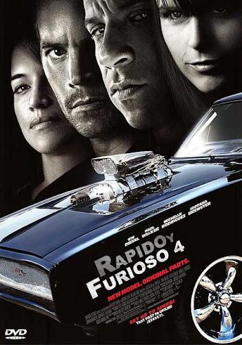 Rapido y Furioso 4 DVD Full Español Latino