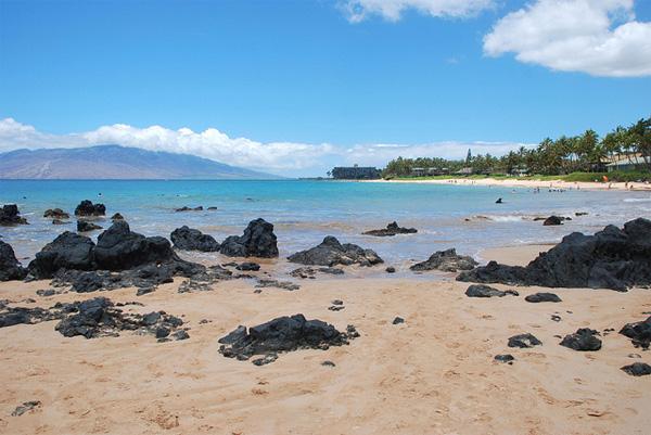 Traumstrand auf Maui, Hawaii
