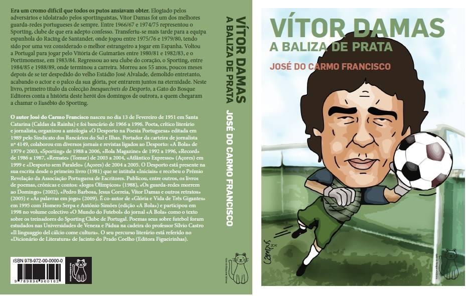 FaceBook - Vitor Damas - A Baliza de Prata por José Carmo Francisco