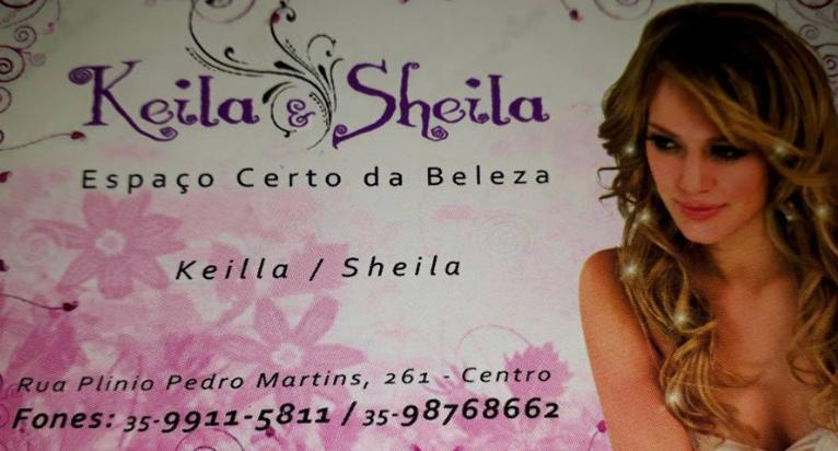 BELEZA É NA LUXUOSO SALÃO DE BELEZA DA KEILLA E SHEILA  DE SÃO THOMÉ DAS LETRAS