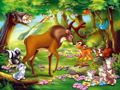 Disney animated fantasy movie Bambi pictures to download free
