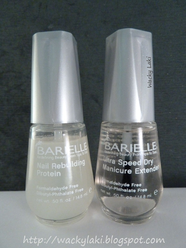 Wacky Laki: Barielle Nail Rebuilding Protein and Ultra Speed Dry ...