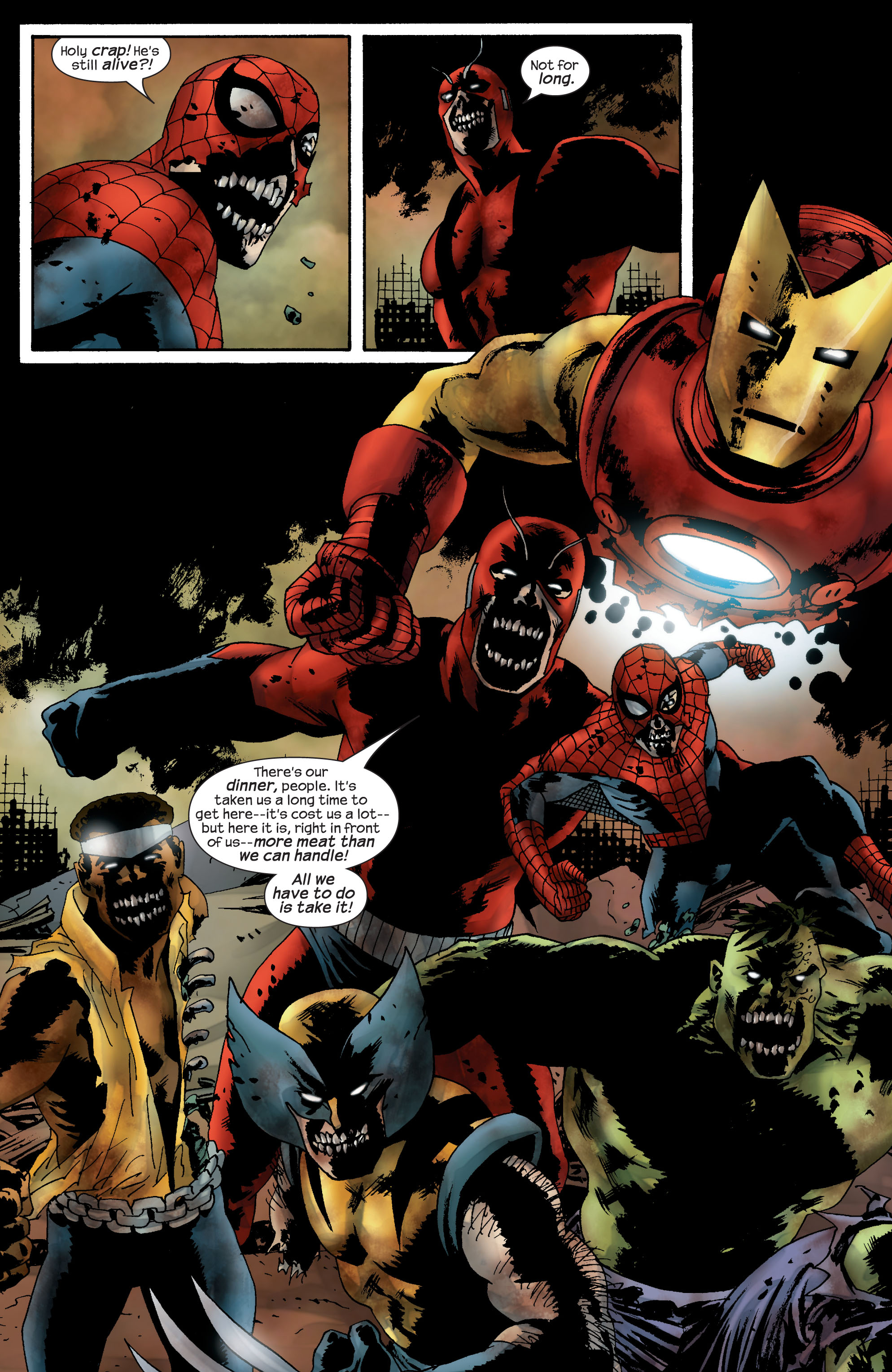 Marvel Zombies (2006) Issue #5 #5 - English 13