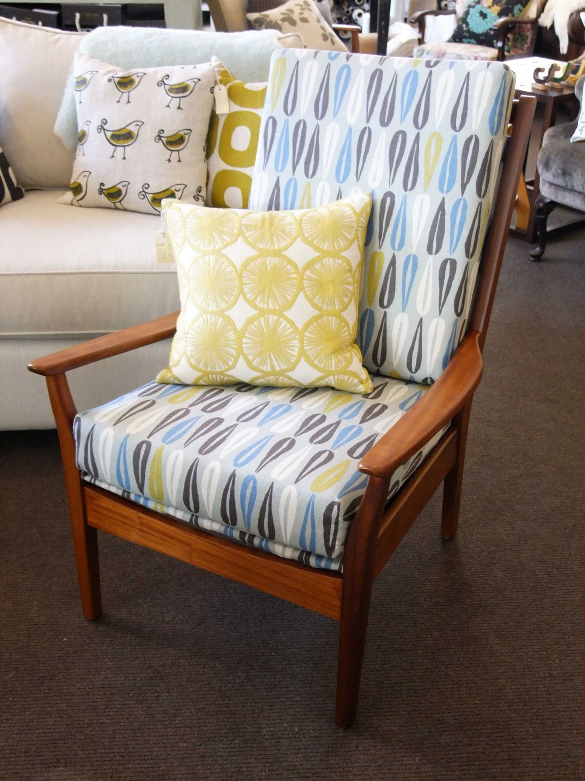 Don Chair Re Upholstery