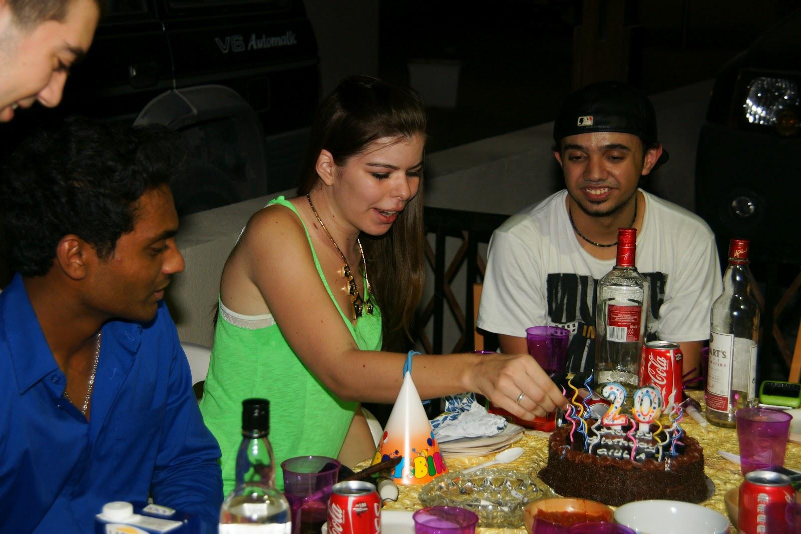 My 20th Birthday Party
