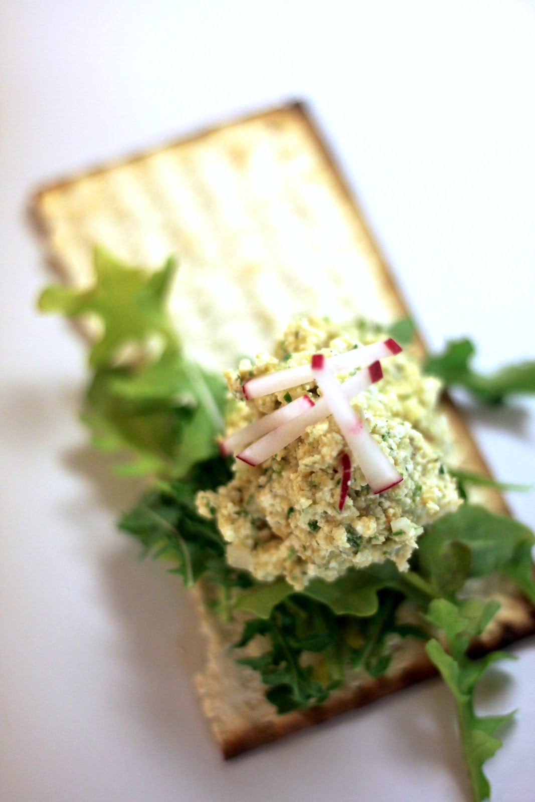 Jenessa's Dinners: chickpea tofu salad