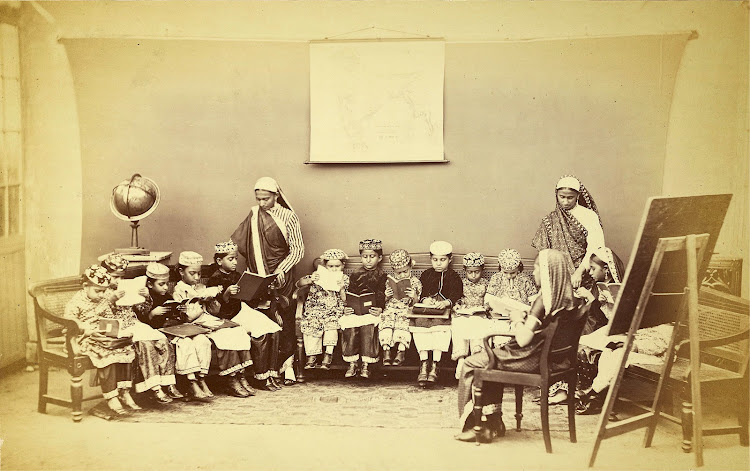 Vernacular Girls School in Bombay (Mumbai) - 1873