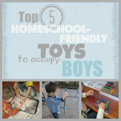 Top 5 Homeschool-Friendly Toys to Occupy Boys-The Unlikely Homeschool