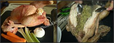 Gallina ripiena bollita ricetta tradizionale prepariamo la farcitura