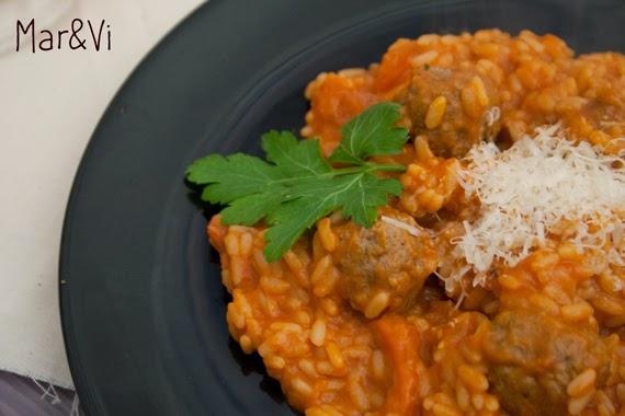 Receta de risotto de tomate