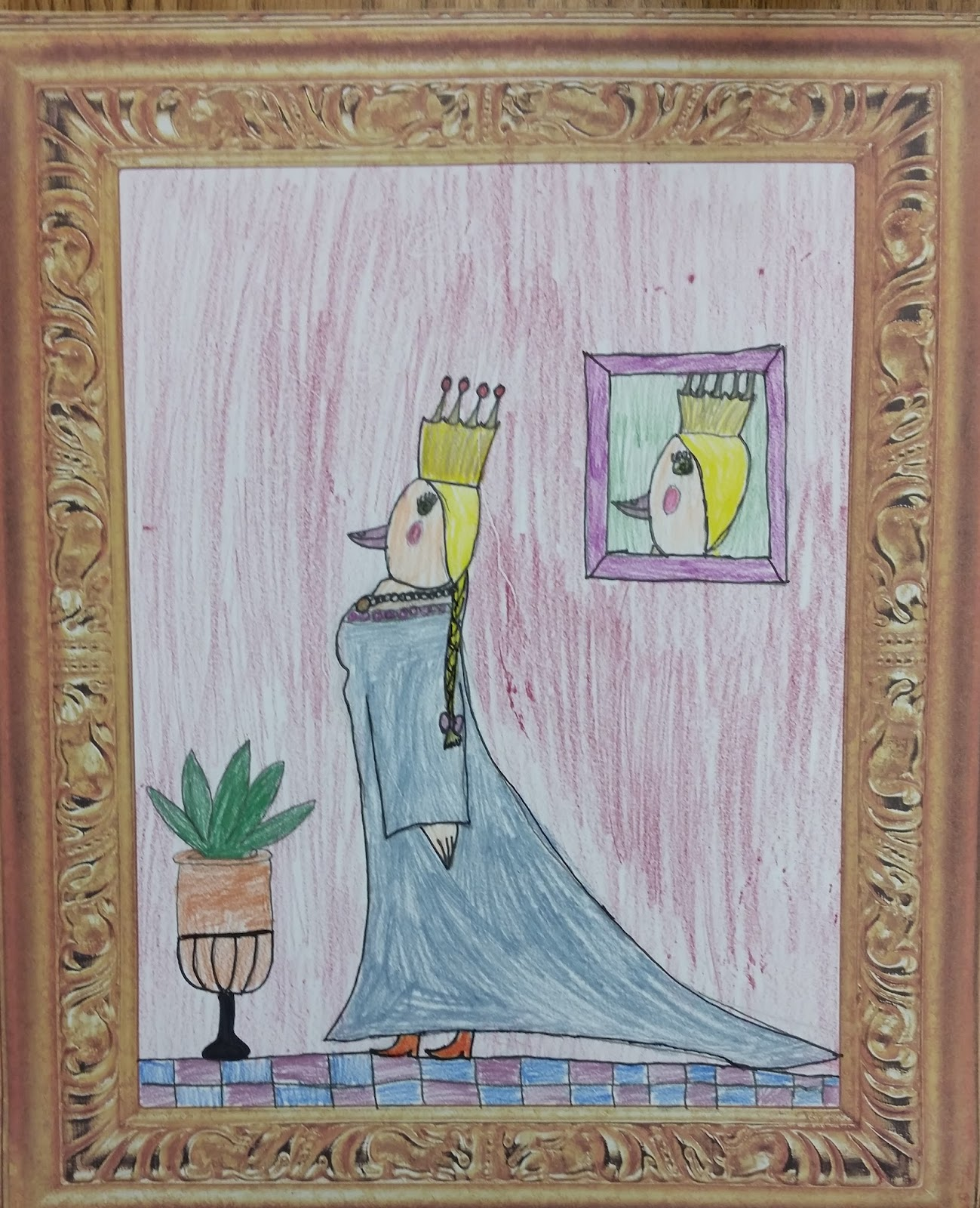 Welcome To Ms Wagner S Elementary Art Studio: The David Lubin Art Studio: Royal Birds