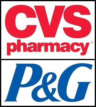 CVS P&G logo