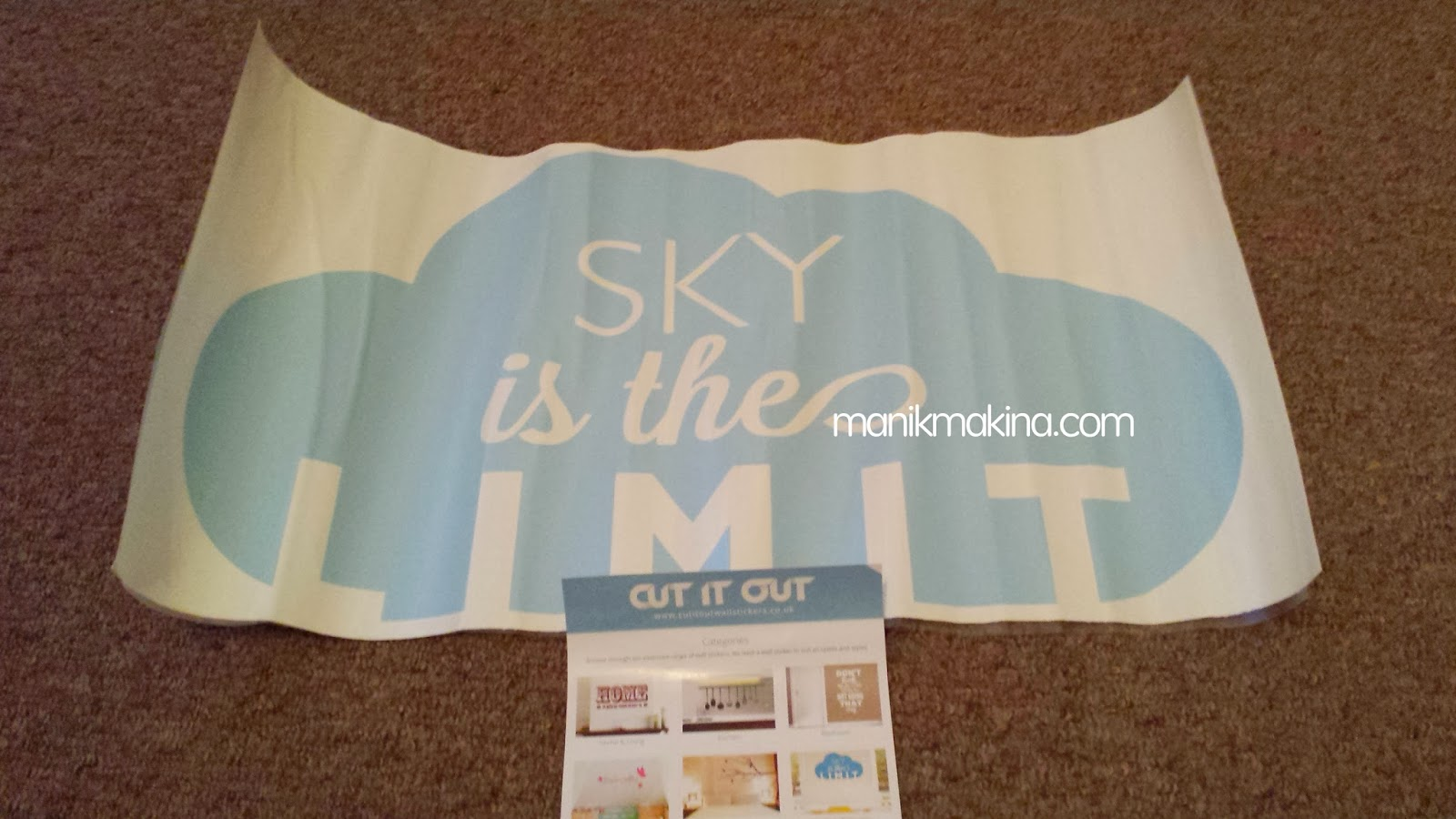 Product Review: CUT IT OUT Wall Sticker