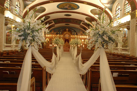 Wedding Church Decorations Ideas