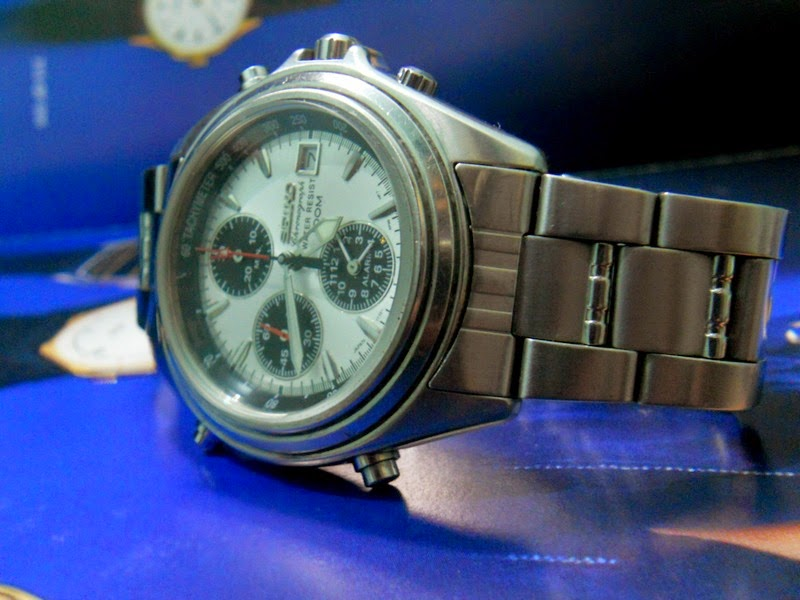 FOR SALE SEIKO CHRONOGRAPH ALARM QUARTZ