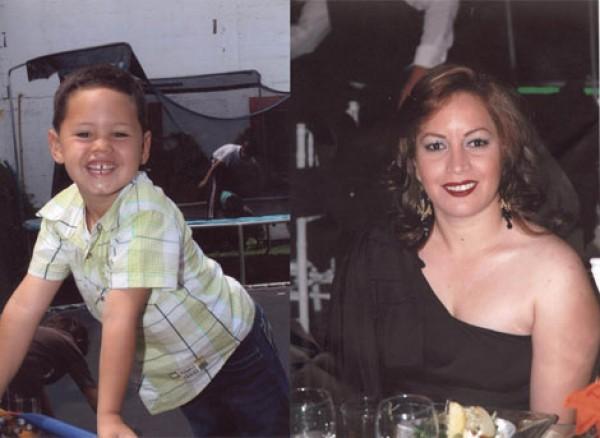 Madre e hijo desaparecido