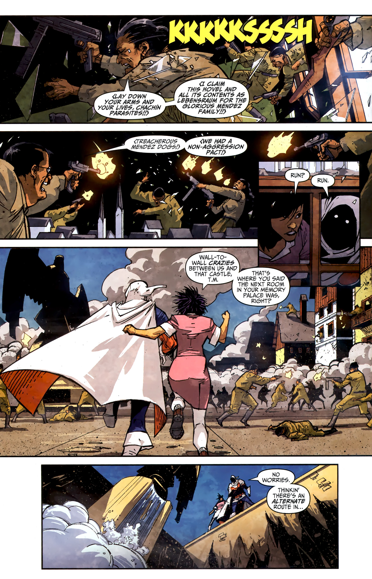Read online Taskmaster (2010) comic -  Issue #3 - 9