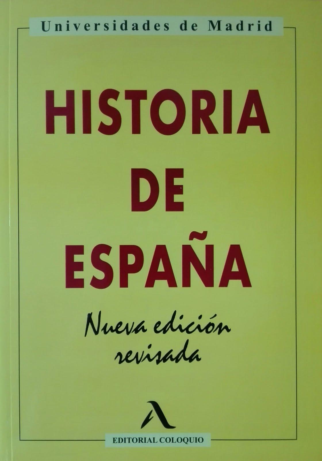 Obra del bloquero. Coautor. Libro de texto. Historia de España, Nueva edición revisada. 2020