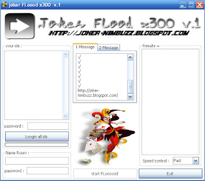 joker FLoood x300 v.1 Ddddddd