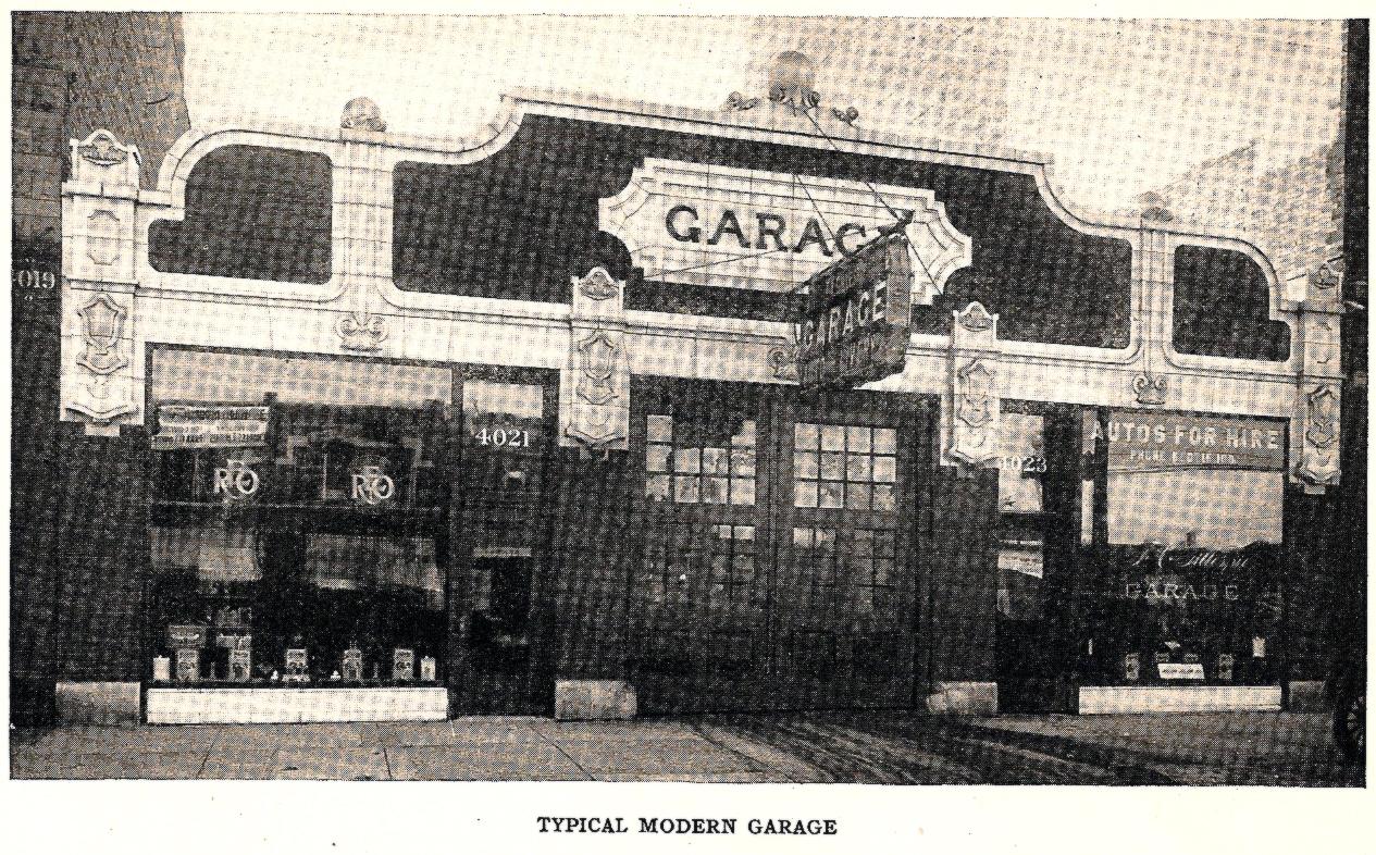 Old Time Garage Shop Repair Photos