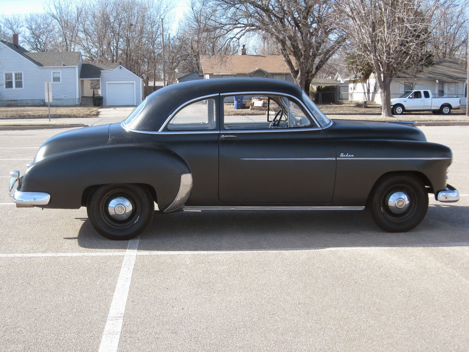 All american classic cars 1950 chevrolet deluxe styleline for Door 2 door cars