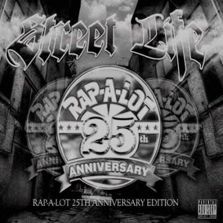 Capa do álbum de aniversário de 25 anos da gravadora Rap-A-Lot