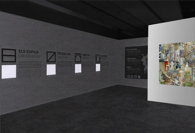 cultura inmaterial, cultura material, instalacion , vista 3