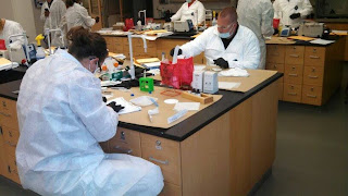 Investigators learn to test biological materials for the presence of human or animal blood.