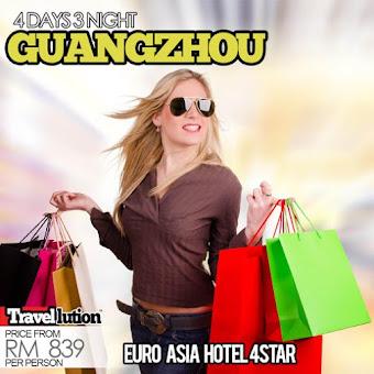 Pakej Shopping ke Guangzhou