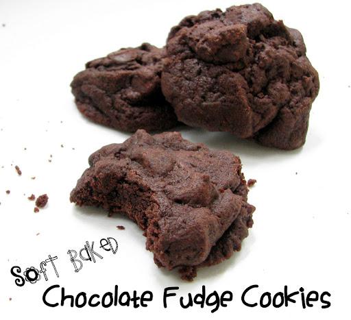 Cantstopbaking: Soft Baked Chocolate Fudge Cookies