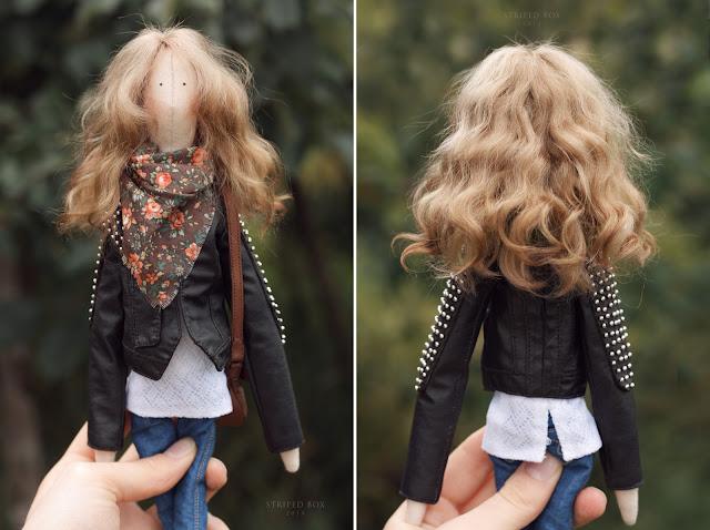 portrait custom doll