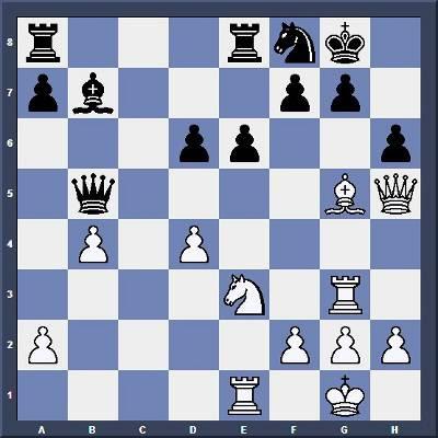 Echecs & Tactique : Les Blancs jouent et gagnent en 6 coups - Niveau Moyen