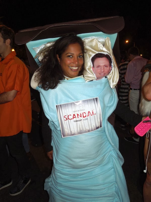 Scandal parody costume West Hollywood Halloween