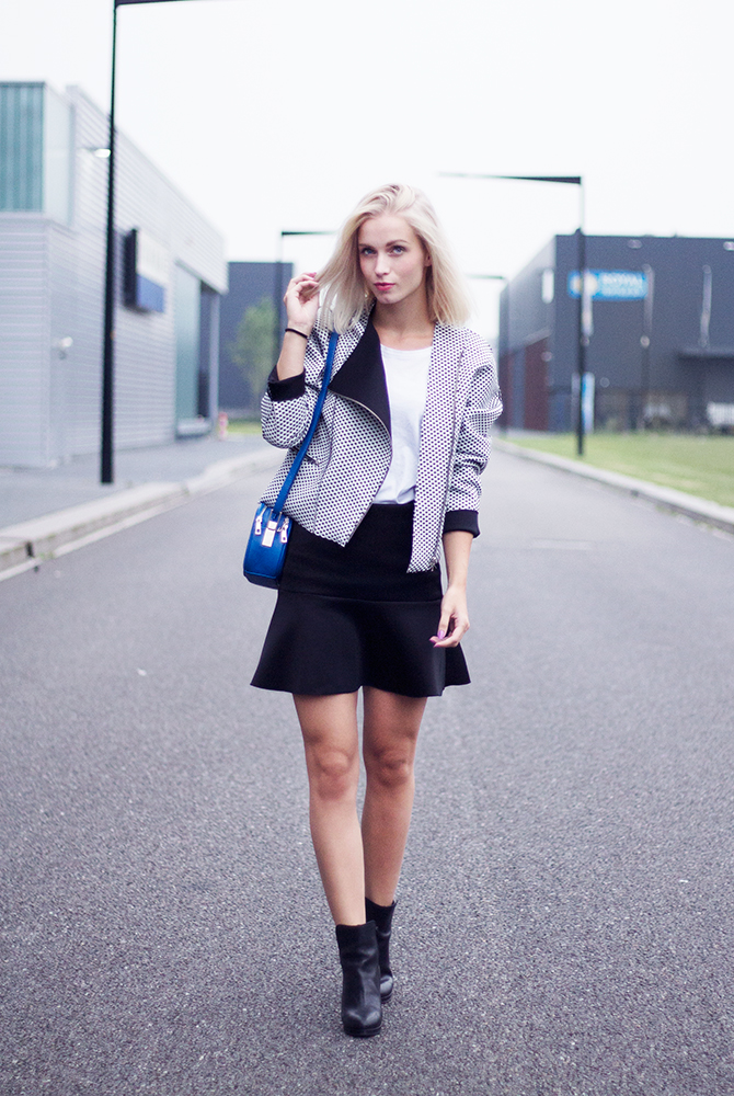Fashion Attacks bonded biker jacket outfit ootd