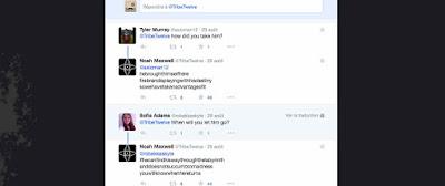 Twitter de Tribe Twelve