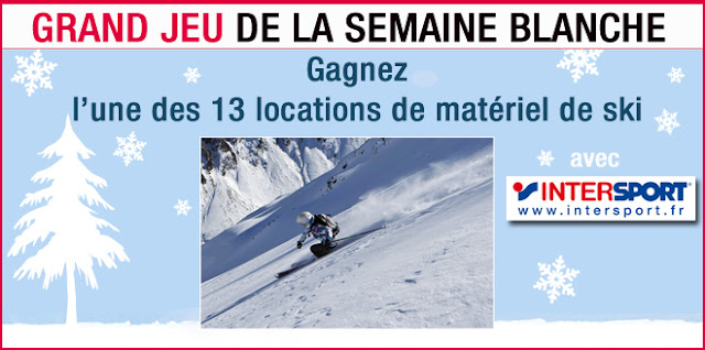 13 locations d'équipements de ski Intersport