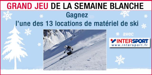 13 locations d'équipements de ski Intersport