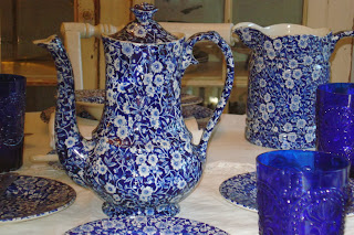 Blue Calico Coffee Server