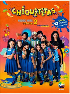 Capa do álbum DVD Chiquititas: Video Hits Vol.2 (2013)