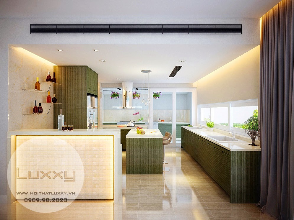 Thiết kế nội thất Biệt Thự sinh thái Ecopark, căn số 062 Vườn Mai