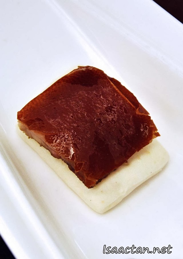 #1 Portuguese Roast Piglet served with Hokkaido Crab Leg Avocado Salad
