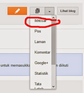 tutorial mengenal dashboard blogger 1