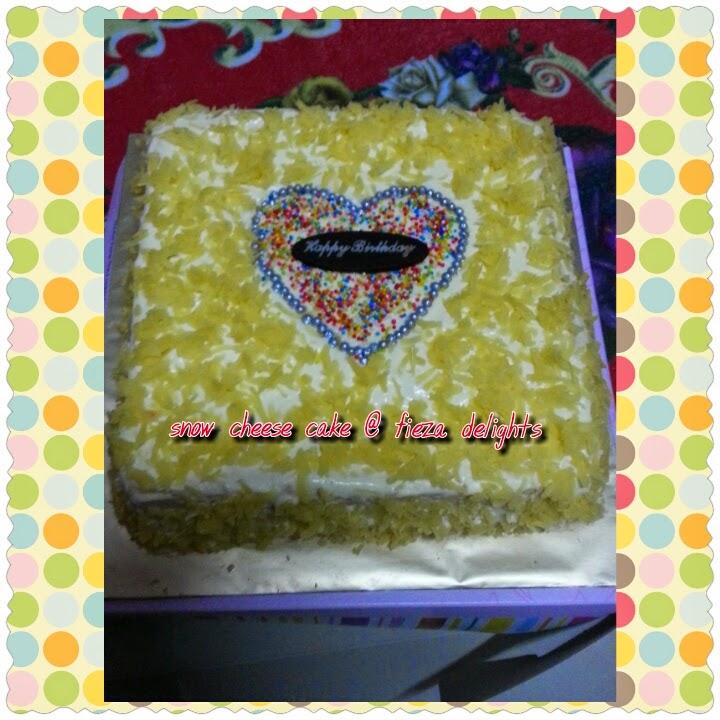 SNOW CHEESE CAKE