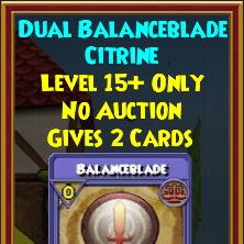 Wizard101 Polaris Best Jewel Drops - Dual Balanceblade Gem
